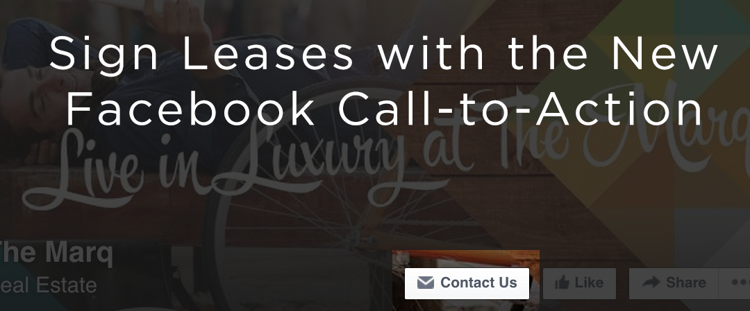 How to Use the New Facebook CTA To Sign Leases
