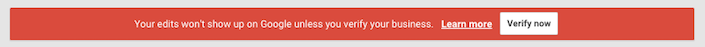 Verify Red