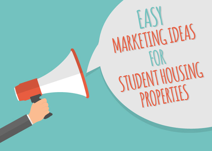 Guerrilla Marketing/Easy Marketing Ideas for Student Housing Properties