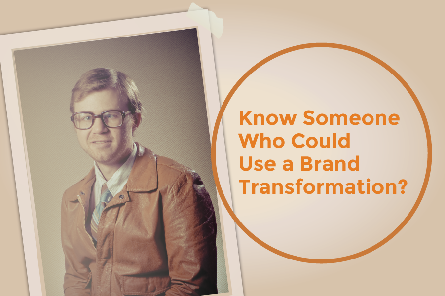 Spread the Word! We're Giving Away Brand Transformations.