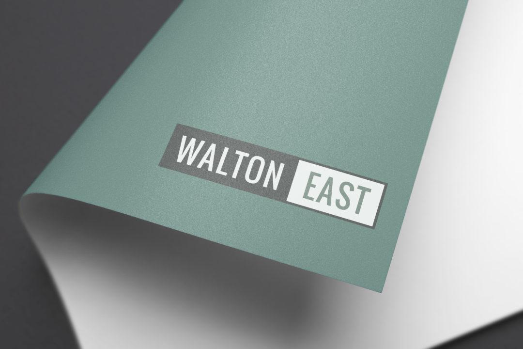 Walton East Logo Branding