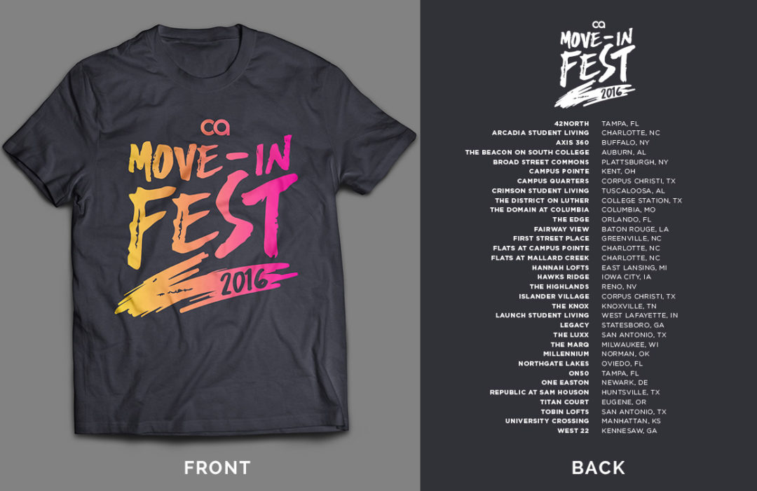 Move-in TShirt