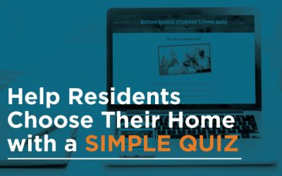 Help Residents Choose Their Home with a Simple Quiz
