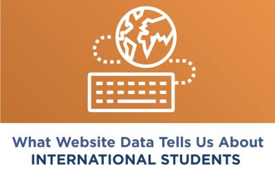 What Website Data Tells Us About International Students