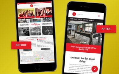 Case Study: Tobin Lofts Website Redesign