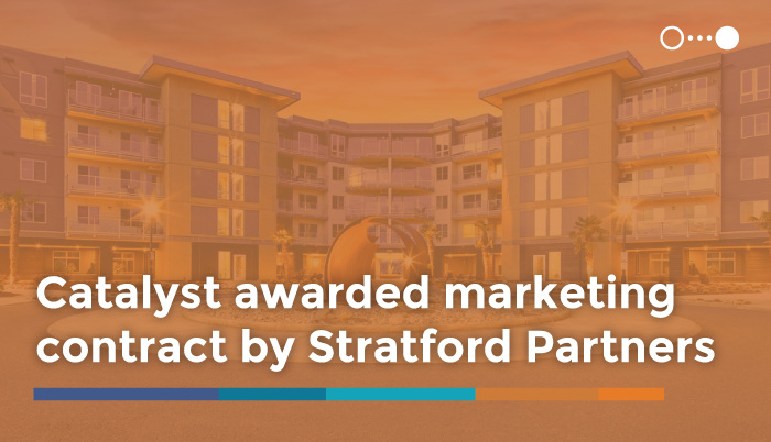 Catalyst Awarded Marketing Contract  by Stratford Partners