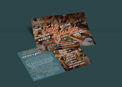 Yacht Harbor Portland Dining Month Campaign