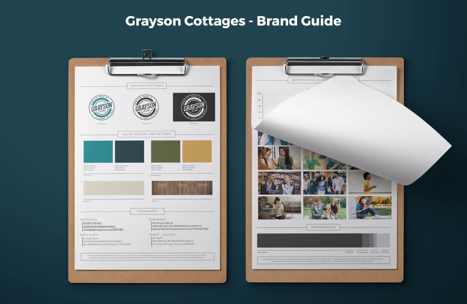 Grayson Cottages Brand Guide