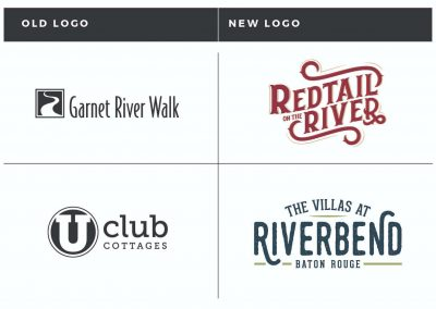 Rebrand: Redtail on the River and The Villas at Riverbend