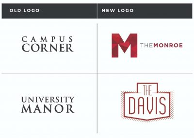 Rebrand: The Monroe and The Davis
