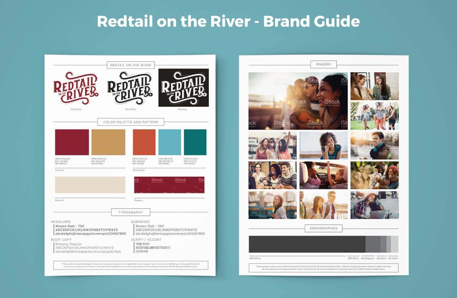 Redtail on the River Brand Guide