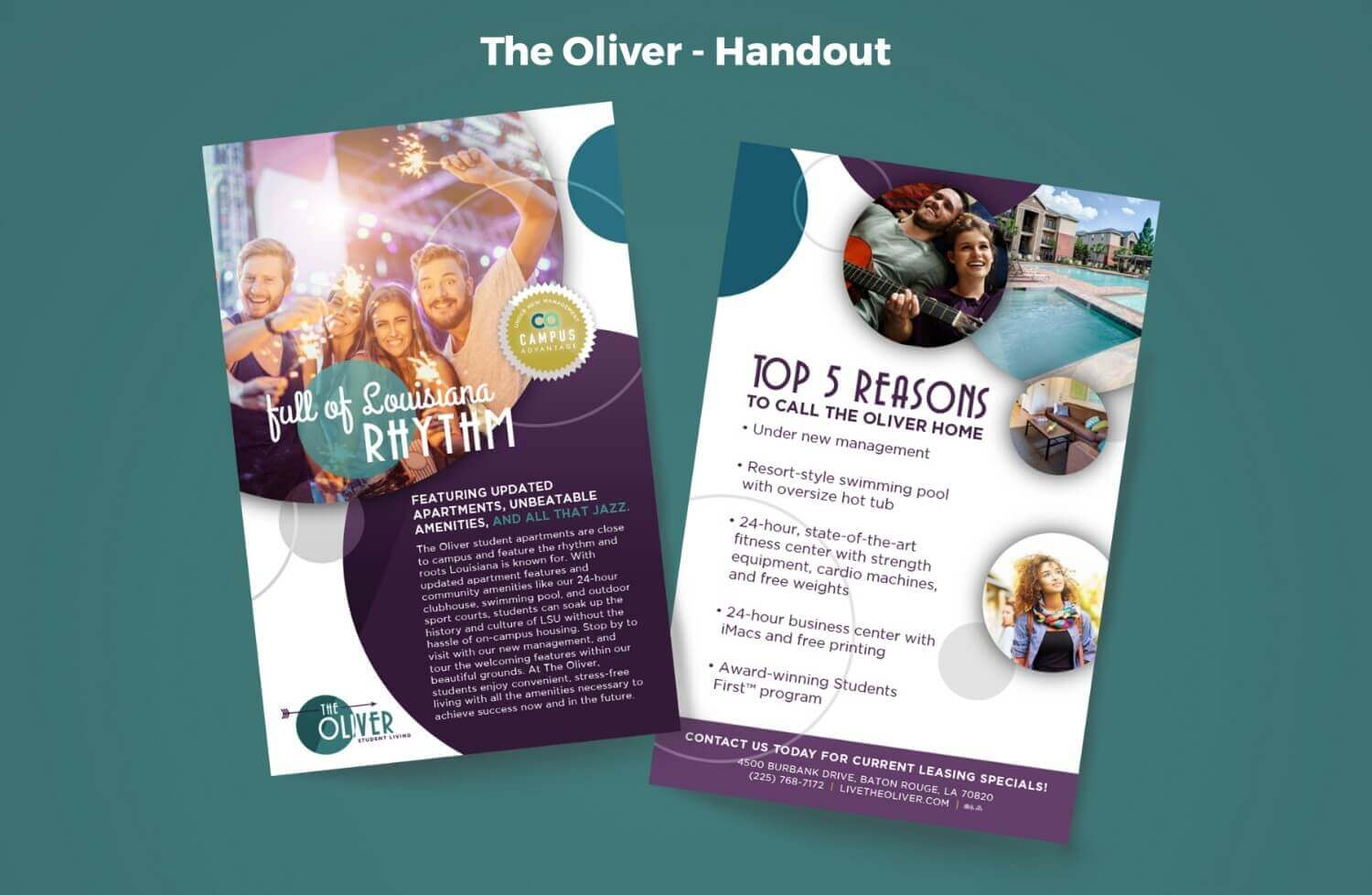 The Oliver Handout