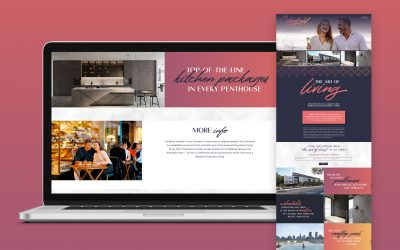 Case Study: The Colorfield Temporary Website