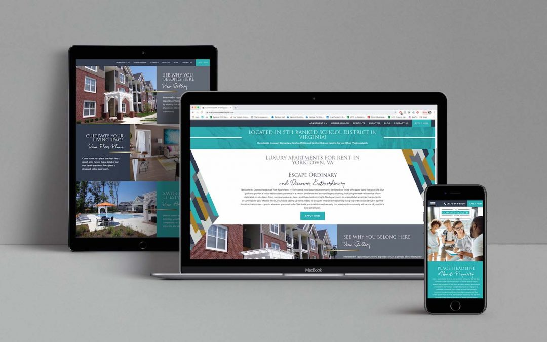 Case Study: Commonwealth at York Website