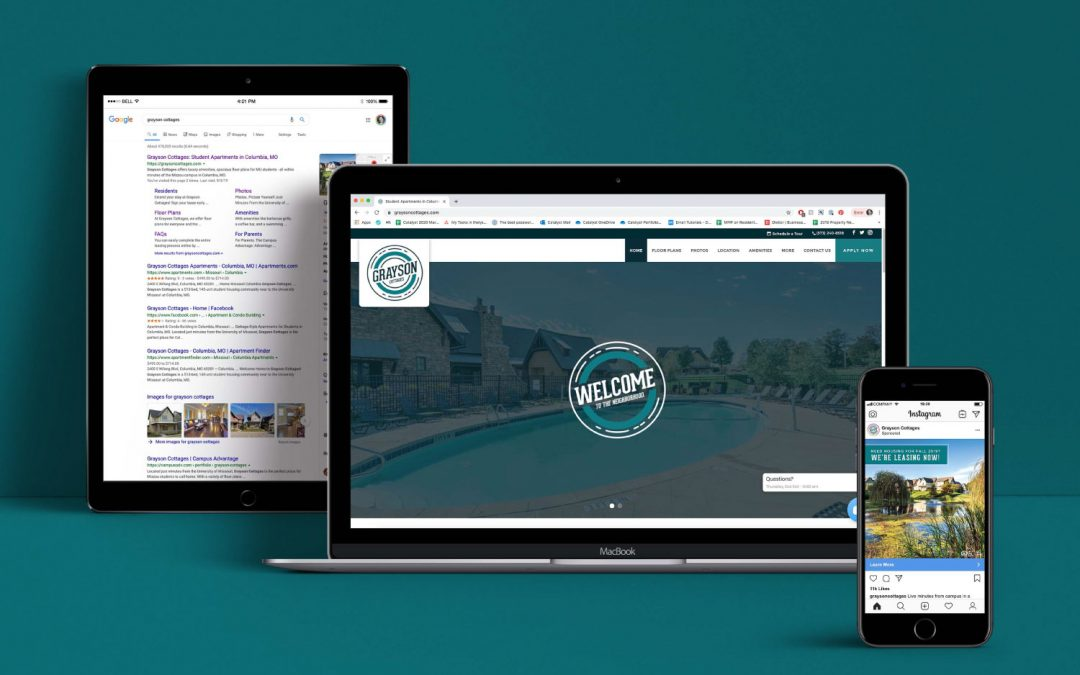Case Study: Grayson Cottages Digital Presence