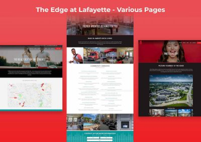 The Edge at Lafayette Website