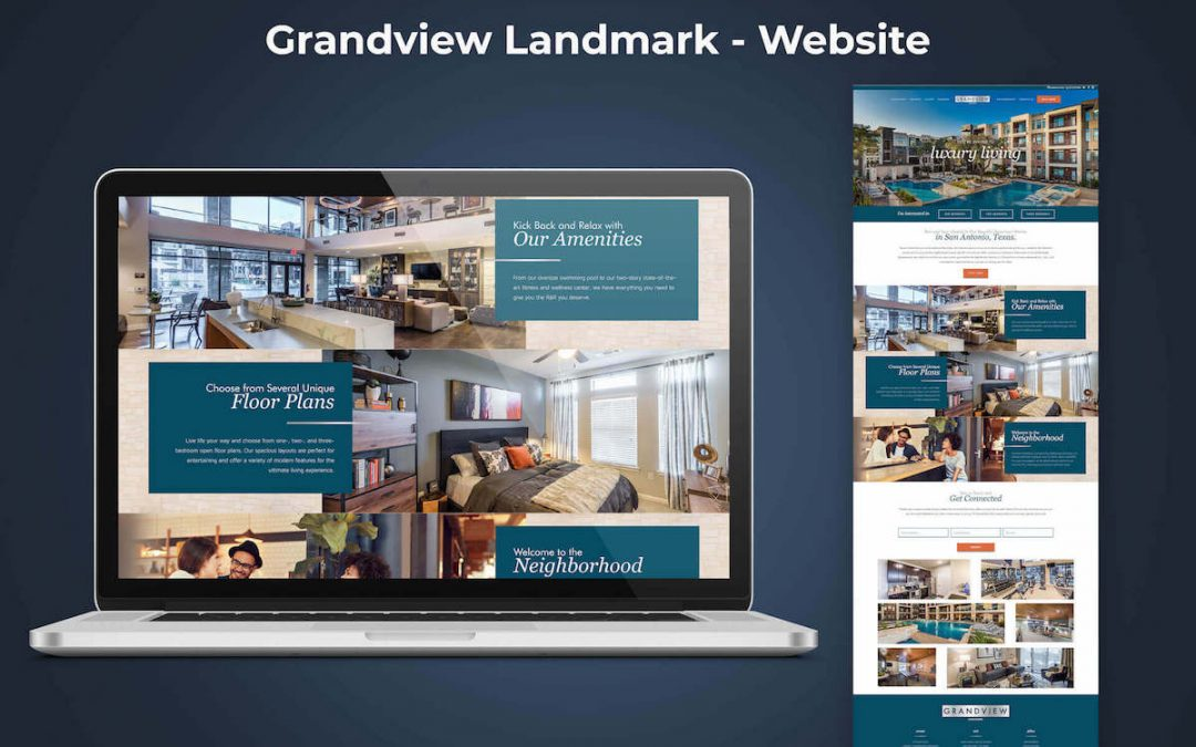 Case Study: Landmark Grandview Website