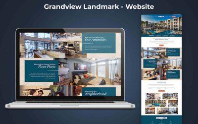 Case Study: Landmark Grandview Website
