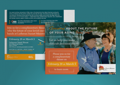 Lutheran Sunset Ministries Campaign