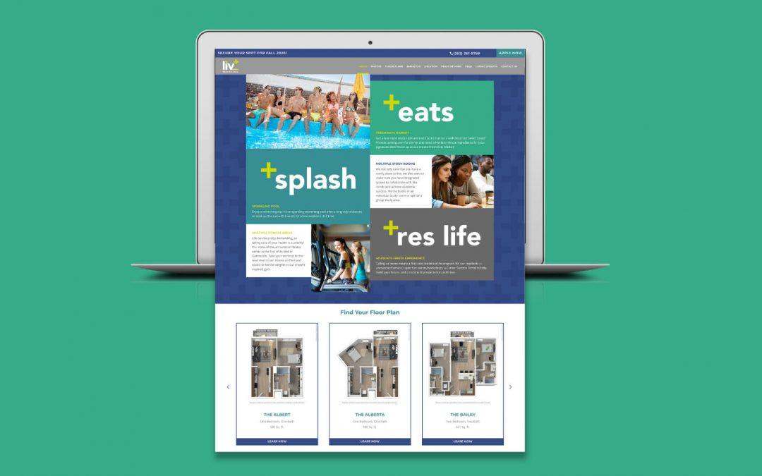 Case Study: Liv+ Gainesville Digital Brand Presence