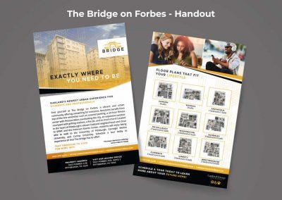 The Bridge Branding and Marketing Materials