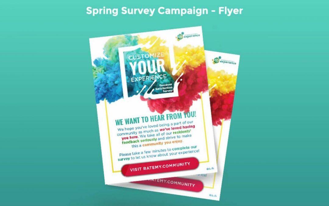 Spring Survey Campaign